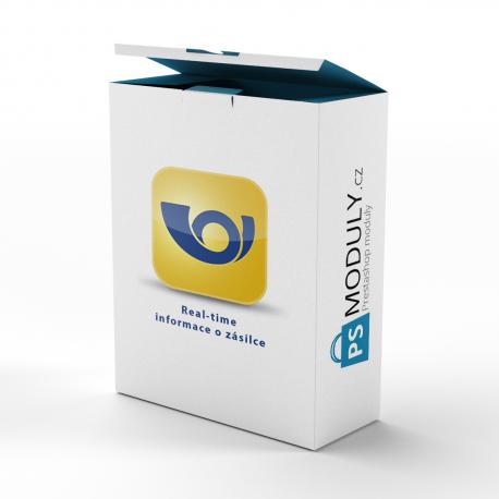 Česká pošta - real time - aktuální informace o zásilce + odesílání automatických emailů zákazníkům