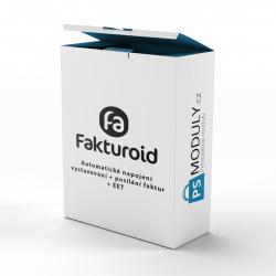 fakturoid.cz - automatické napojení - vystavování + posílání faktur + EET