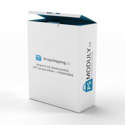 dropshipping.cz - import od dodavatelů + API přeposílání + PODPORA