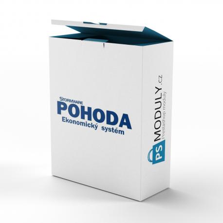 Účetní software Pohoda - Export objednávek / faktur
