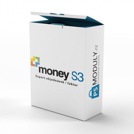Účetní software Money S3 - Export objednávek / faktur