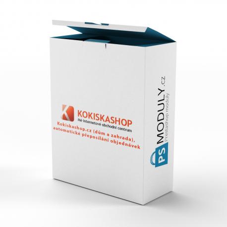 Import dropshipping modul - Kokiskashop.cz/.sk (dům a zahrada) + automatické přeposílání objednávek