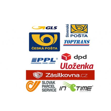 Česká pošta + PPL + DPD + TopTrans + Uloženka + Slovenská pošta a další - Online podání - přenos sledovacích čísel do Presty