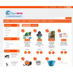 Plně automatický e-shop napojený na dodavatele kokiskashop.cz/.sk (Dům a zahrada)