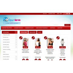 Plně automatický e-shop napojený na dodavatele perfektnipradlo.cz (Spodní prádlo)