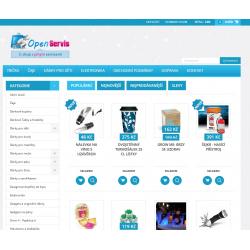 Plně automatický e-shop napojený na dodavatele uzasne-darky.cz (Gadgety)