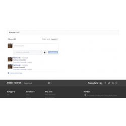 Facebook.com komentáře v detailu produktu