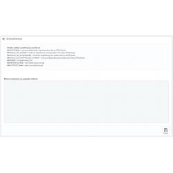 Kód na potvrzení objednávky (thank you page)
